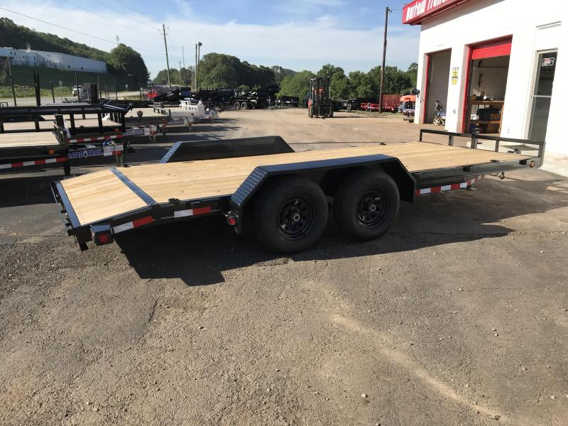 New Load Trail 18' 10k lb Equipment Trailer in Nelson, GA