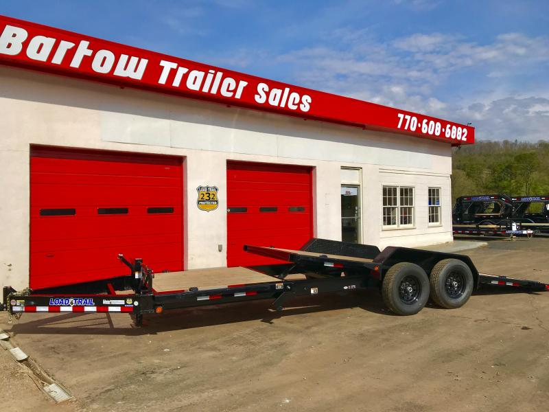 New Load Trail 24ft Tilt Deck Trailer in Nelson, GA
