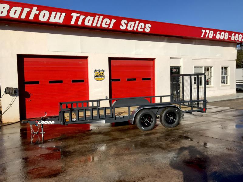 "New Lamar 83"" x 16' 7k Utility Trailer in Rome, GA"