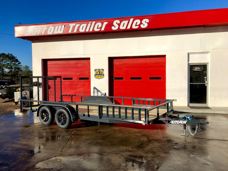 "New Lamar 83"" x 18 Utility Trailer in Nelson, GA"