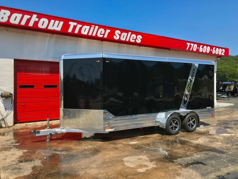 2018 Legend All Aluminum 19ft Cargo Trailer