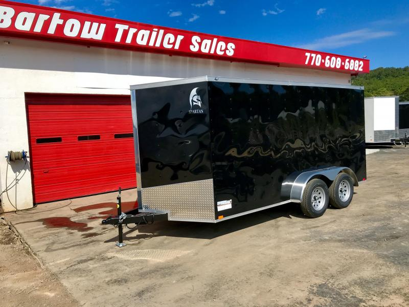 2019 Spartan 7x14 Enclosed Cargo Trailer in Nelson, GA