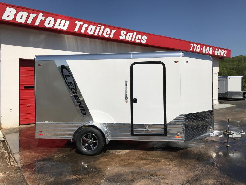 2018 Legend All Aluminum 7X12/15 Enclosed Trailer