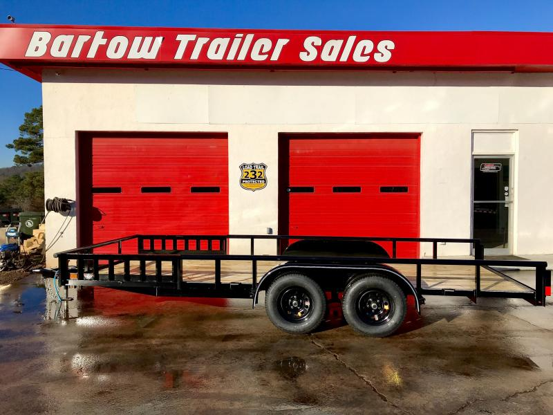 "New 83"" x 18' Lamar 7K Utility Trailer in Nelson, GA"