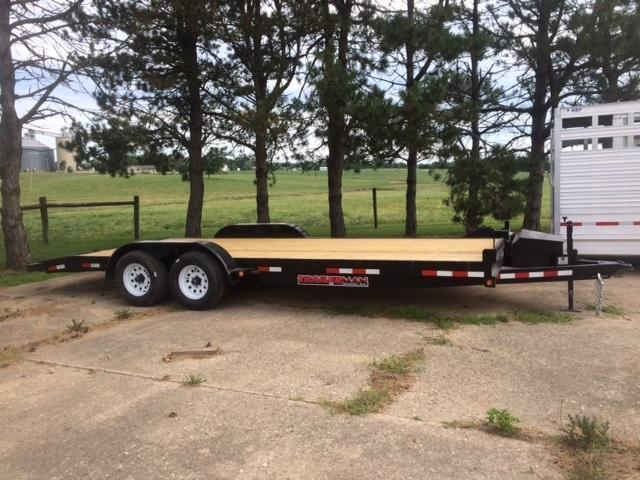 2017 Trailerman Trailers Inc. Heavy Duty Car Hauler Equipment Trailer