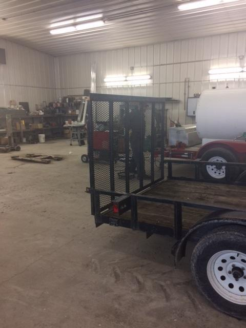 2004 Trailerman Trailers Inc. 16 Utility Trailer