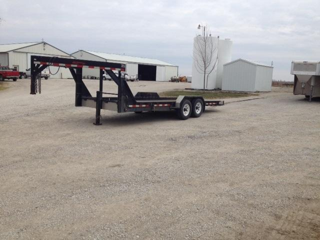 2007 Imperial Gooseneck Tilt Equipment Trailer