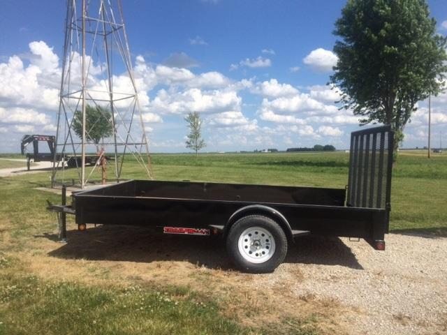 "2017 Trailerman Trailers Inc. 84"" X 12 Utility Trailer"
