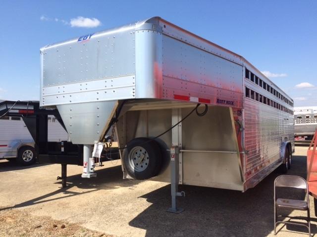 2018 Eby Trailers Ruffneck Livestock Trailer