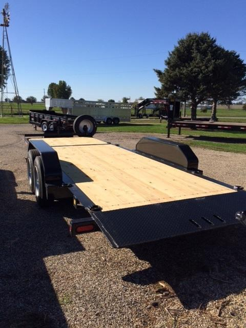 2018 Trailerman Trailers Inc.Cushion Tilt Equipment Trailer