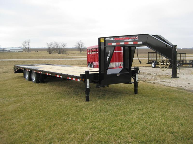 2018 Trailerman Trailers Inc. Hired Hand Equipment Trailer