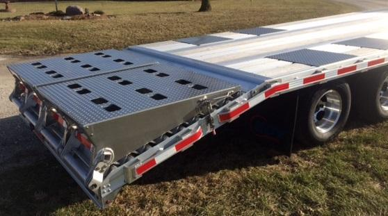 2018 Eby Trailers Deck Over Flatbed Equipment Trailer