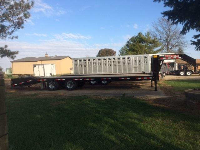 2018 Trailerman Trailers Inc. Hired Hand 8.5 X (25+5) Equipment Trailer