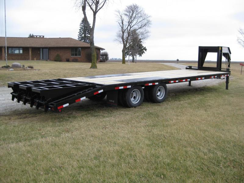 2019 Trailerman Trailers Inc. Hired Hand 8.5 X (25+5) Equipment Trailer