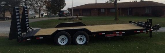 2019 Trailerman Trailers Inc. Contractors Special Equipment Trailer
