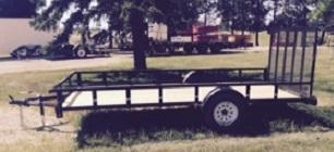 2016 Trailerman Trailers Inc. 76 x 14 Utility Trailer