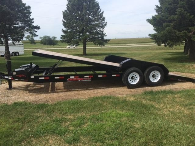 2018 Trailerman Trailers Inc. Tilt Equipment Trailer
