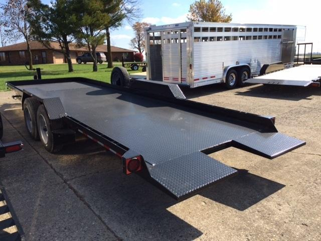 2018 Imperial 22 HD Splitfloor Wideboy Equipment Trailer