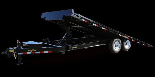 2019 Big Tex Trailers 14OT-22 Tilt Equipment Trailer