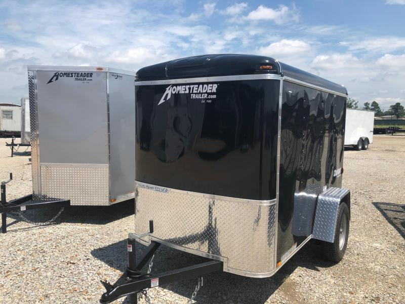 2018 Homesteader Inc. 5x8 Enclosed Cargo Trailer