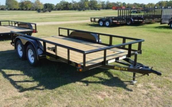 2019 Big Tex Trailers 70PI-16' Utility Trailer