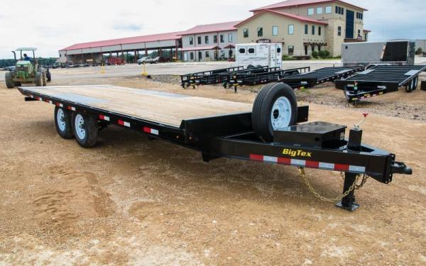 "2019 Big Tex Trailers 14OT 102"" x 24' 14K Equipment Trailer in Barton, AR"