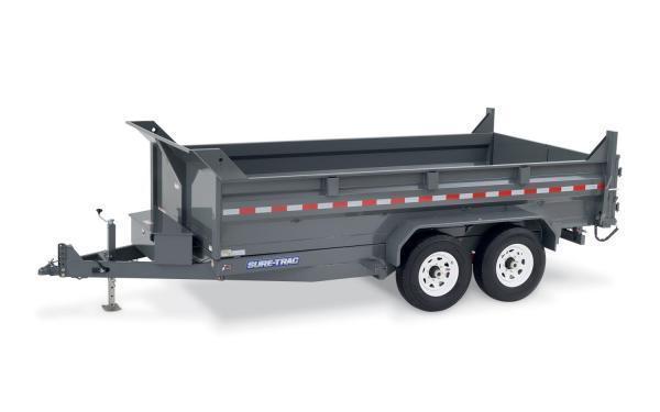 2019 Sure-Trac 82 x 14 heavy duty low profile dump