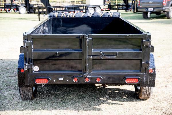 2020 Big Tex Trailers 70SR 5 x 10 7K Dump Trailer