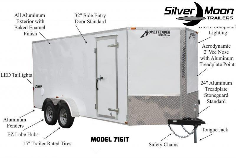 2020 Homesteader 612IT Enclosed Cargo Trailer