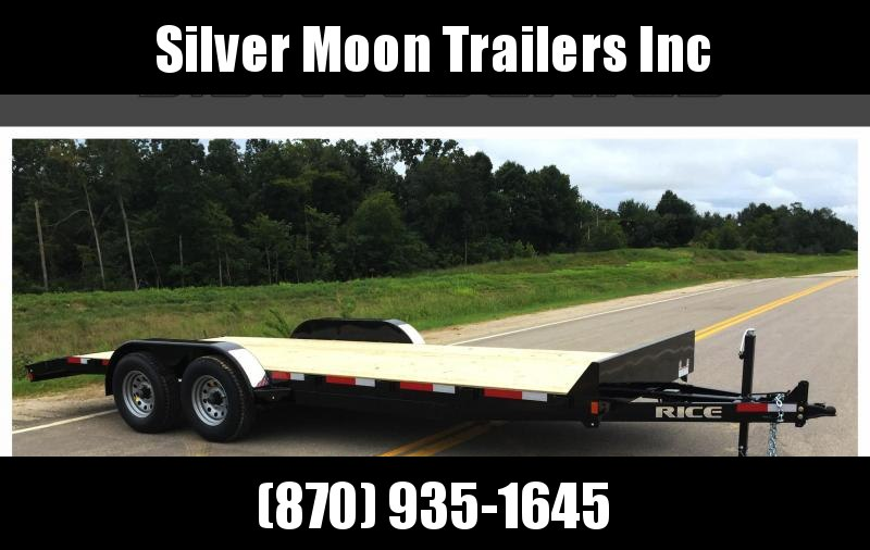 "2018 FMCM Rice 10k 82""x20' Equipment Trailer in Ashburn, VA"