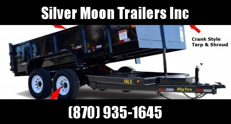 2018 Big Tex 7x14 14K Dump Trailer in Centerville, MO