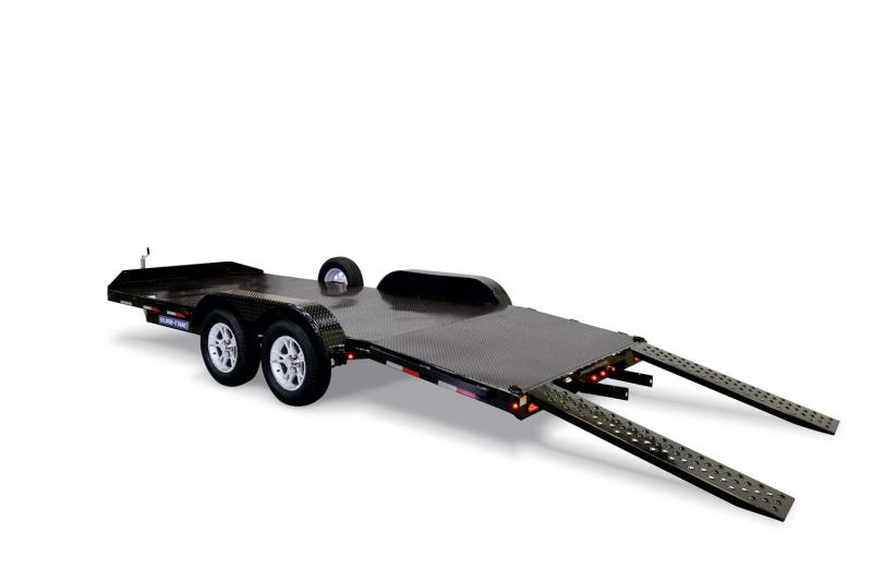 "2019 Sure-Trac 83"" x 20' 10K Steel Deck Car Hauler"