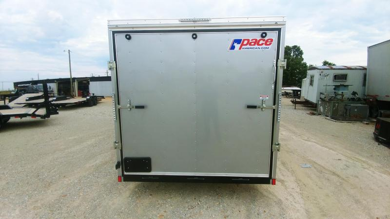 2020 Pace American 7x16 V-Nosed Enclosed Cargo Trailer