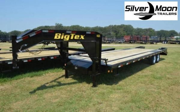 2020 Big Tex Trailers 14GN-20+5 14K Gooseneck Flatbed