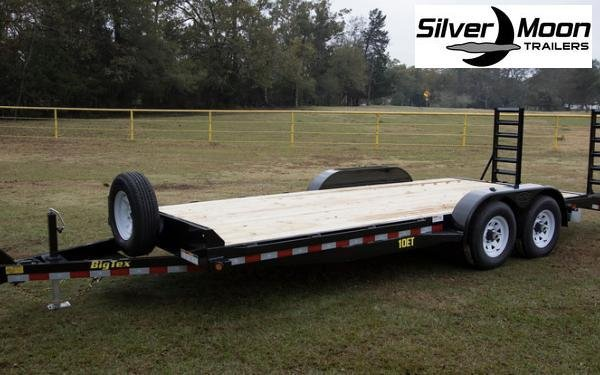 "2019 Big Tex Trailers 83""x20' 10K Equipment Trailer in Barton, AR"