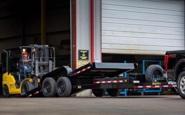 2019 Big Tex Trailers 16TL 22' Super Duty Tilt Equipment Trailer 17.5K