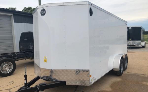2019 Wells Cargo FastTrac 7 x 16 TA Enclosed Cargo Trailer