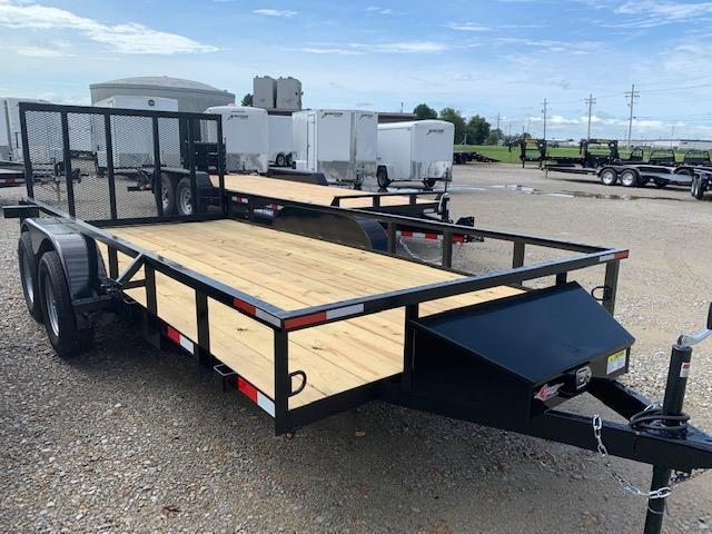 "2019 Stingray 82"" x 16' 7K Utility Trailer"