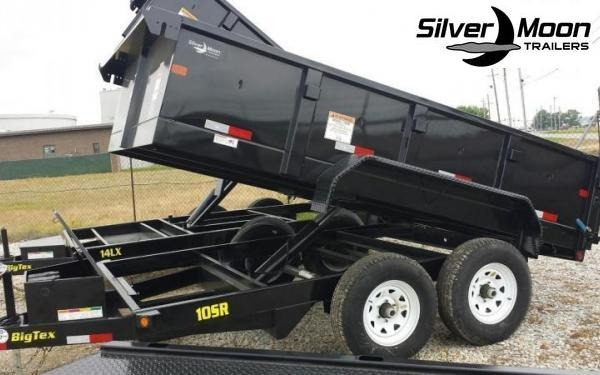 2019 Big Tex Trailers 10SR 7 x 12 10K Dump Trailer