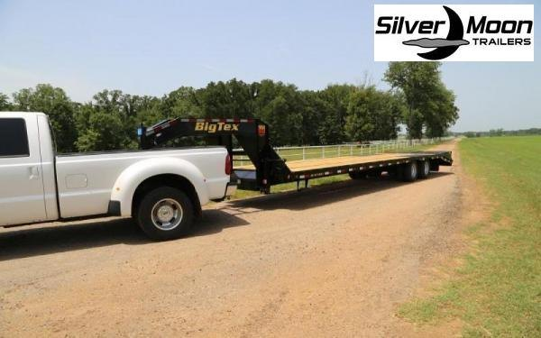 2020 Big Tex Trailers 22GN-30+5MR Equipment Trailer 23.9K