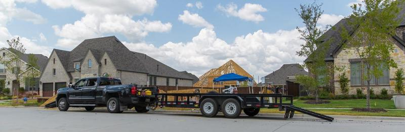 2020 Big Tex Trailers 14PI-20' Equipment Trailer