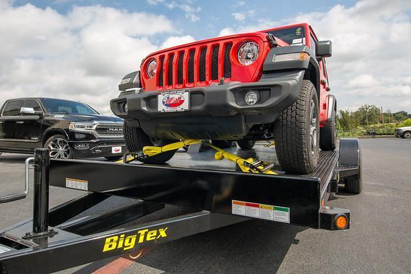2020 Big Tex Trailers 70DM 20' Car Hauler