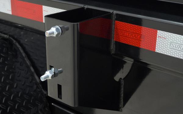 "2020 Sure-Trac 82"" x 14' 14K Heavy Duty Low Profile Dump (Telescopic Hoist) Trailer"