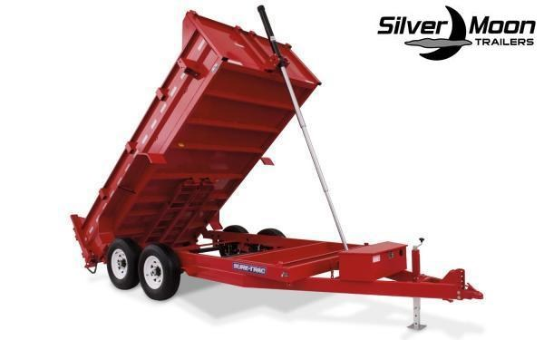 "2020 Sure-Trac 82"" x 14' 14K Heavy Duty Low Profile Dump (Telescopic Hoist) Trailer"