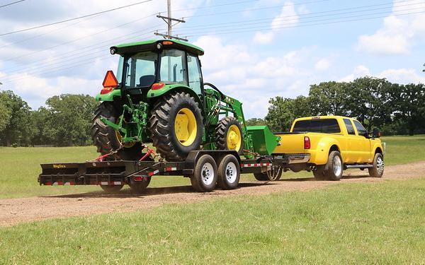 "2020 Big Tex Trailers  83""x20' 14K Equipment Trailer"