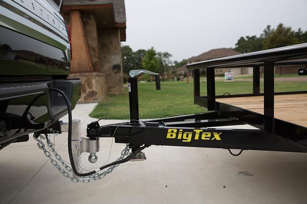 """2020 Big Tex Trailers 45ES 77"""" x 16 Utility Trailer"""
