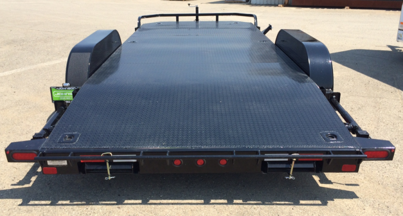 "2018 Big Tex 83"" 20 10k Steel Floor Trailer"