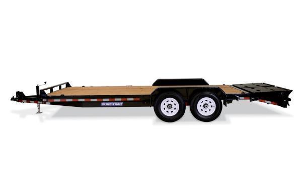 2019 Sure-Trac 17' + 3 14K Universal Ramp Implement Trailer