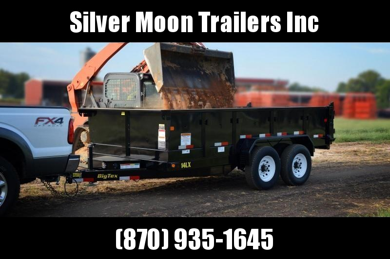 2019 Big Tex 7x14 14k Dump Trailer W/ Hyd Jack in Brandsville, MO