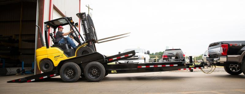 2018 Big Tex 17.5K 20' HD Tilt Trailer